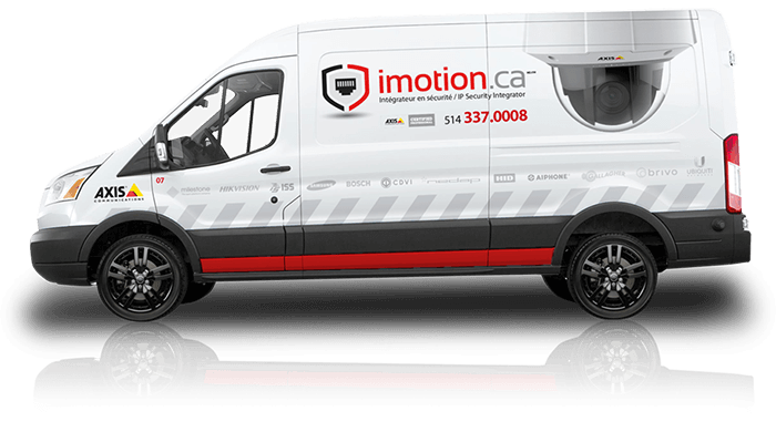 iMotion Service truck