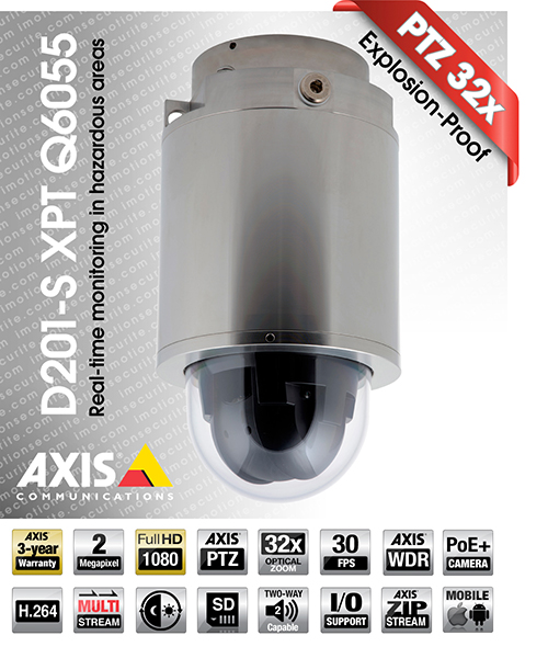 Axis D201-S XPT Q6055