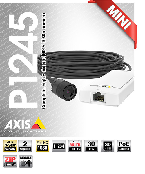 Axis P1245