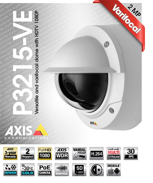 Axis P3215-VE
