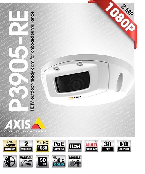 Axis P3905-RE