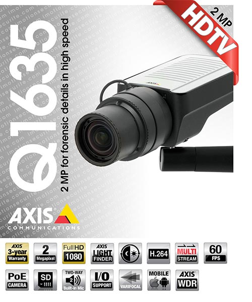 Axis Q1635