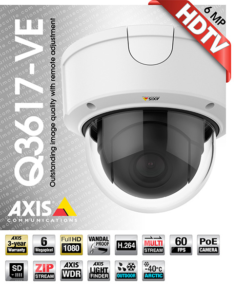 Axis Q3617-VE
