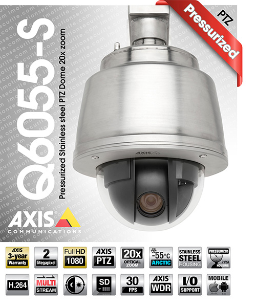 Axis Q6055-S
