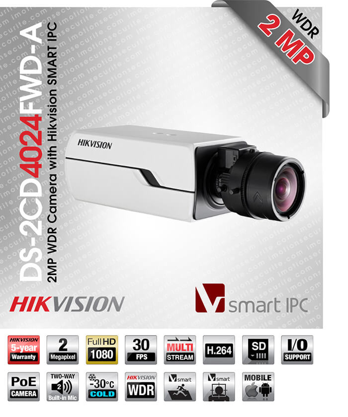 Hikvision DS-2CD4024FWD-A