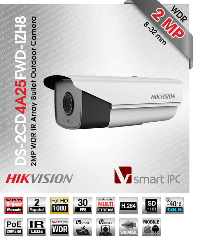 Hikvision DS-2CD4A25FWD-IZH8