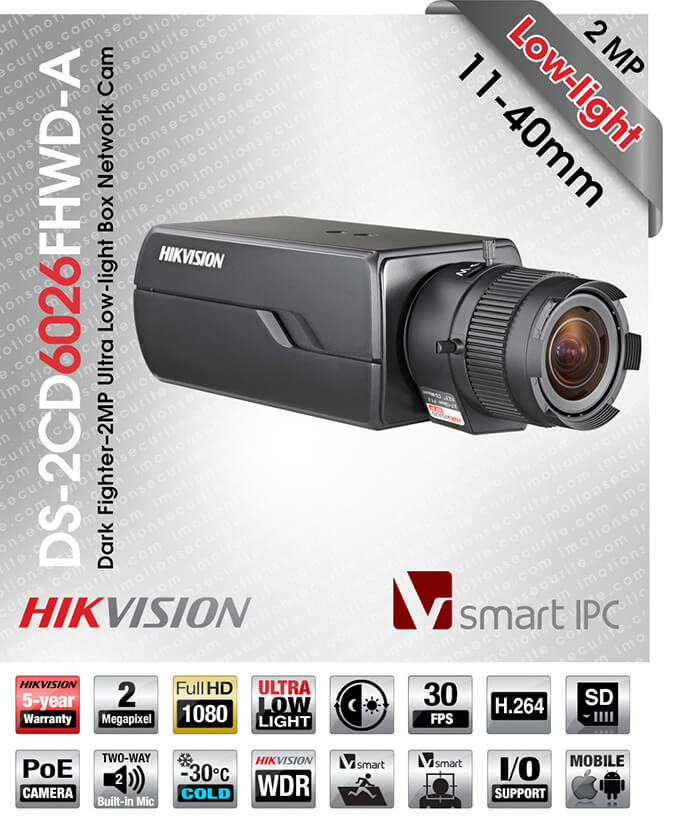 Hikvision DS-2CD6026FHWD-A11