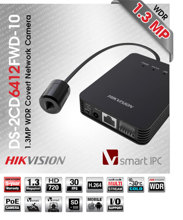 Hikvision DS-2CD6412FWD-10