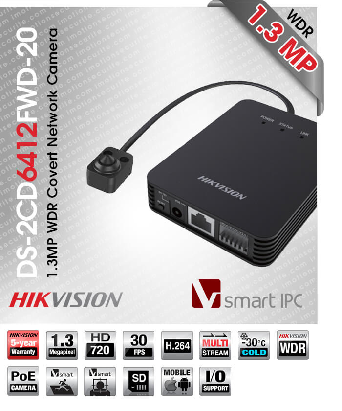 Hikvision DS-2CD6412FWD-20
