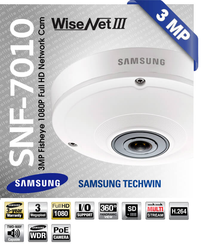 Samsung SNF-7010 Network Camera Vista