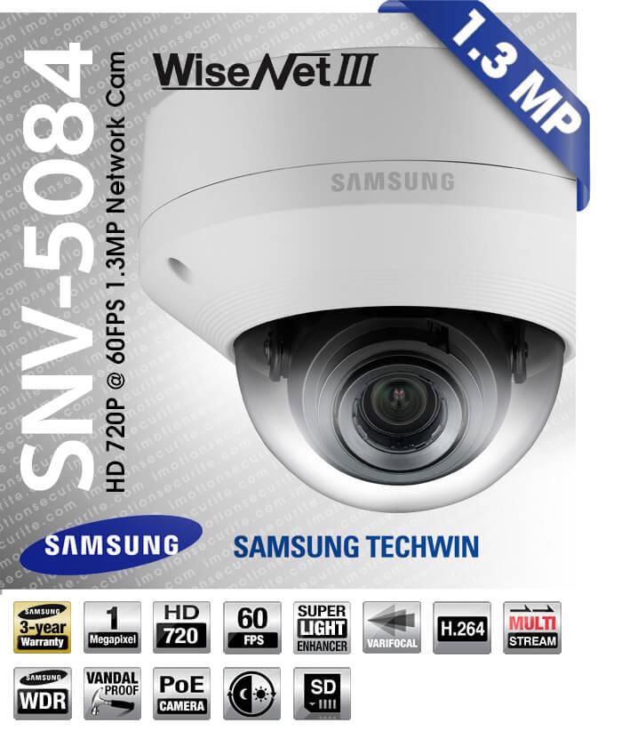 SAMSUNG SND-5084 NETWORK CAMERA DRIVERS