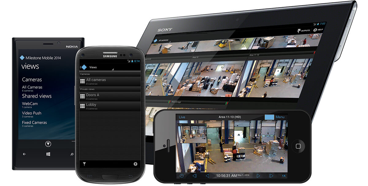 Milestone Video Management Software Vms Imotion Security