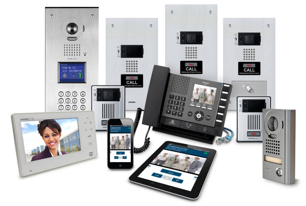 Ip Audio Video Intercom Systems Montreal Canada