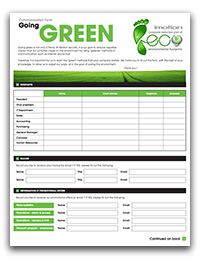 Green communication form