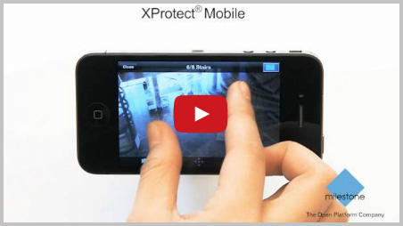 Milestone XProtect Mobile Client Video